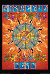 Image for Grateful Dead Poster - Sun