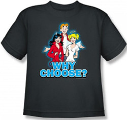 Image for Archie Comics Youth T-Shirt - Why Choose