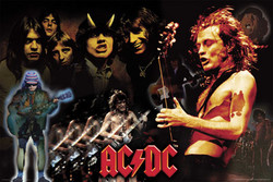 Image for AC/DC Poster - Montage