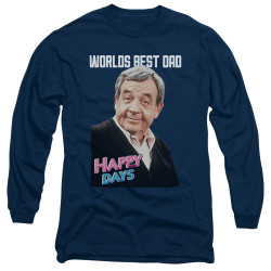 Image for Happy Days Long Sleeve T-Shirt - Best Dad