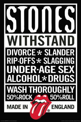 Image for Rolling Stones Poster - Declaration