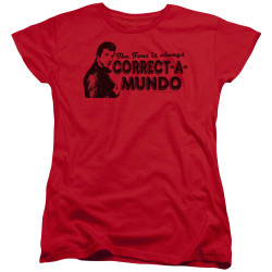Image for Happy Days Woman's T-Shirt - Correct A Mundo
