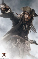 Image for Pirates of the Caribbean Poster - Jack