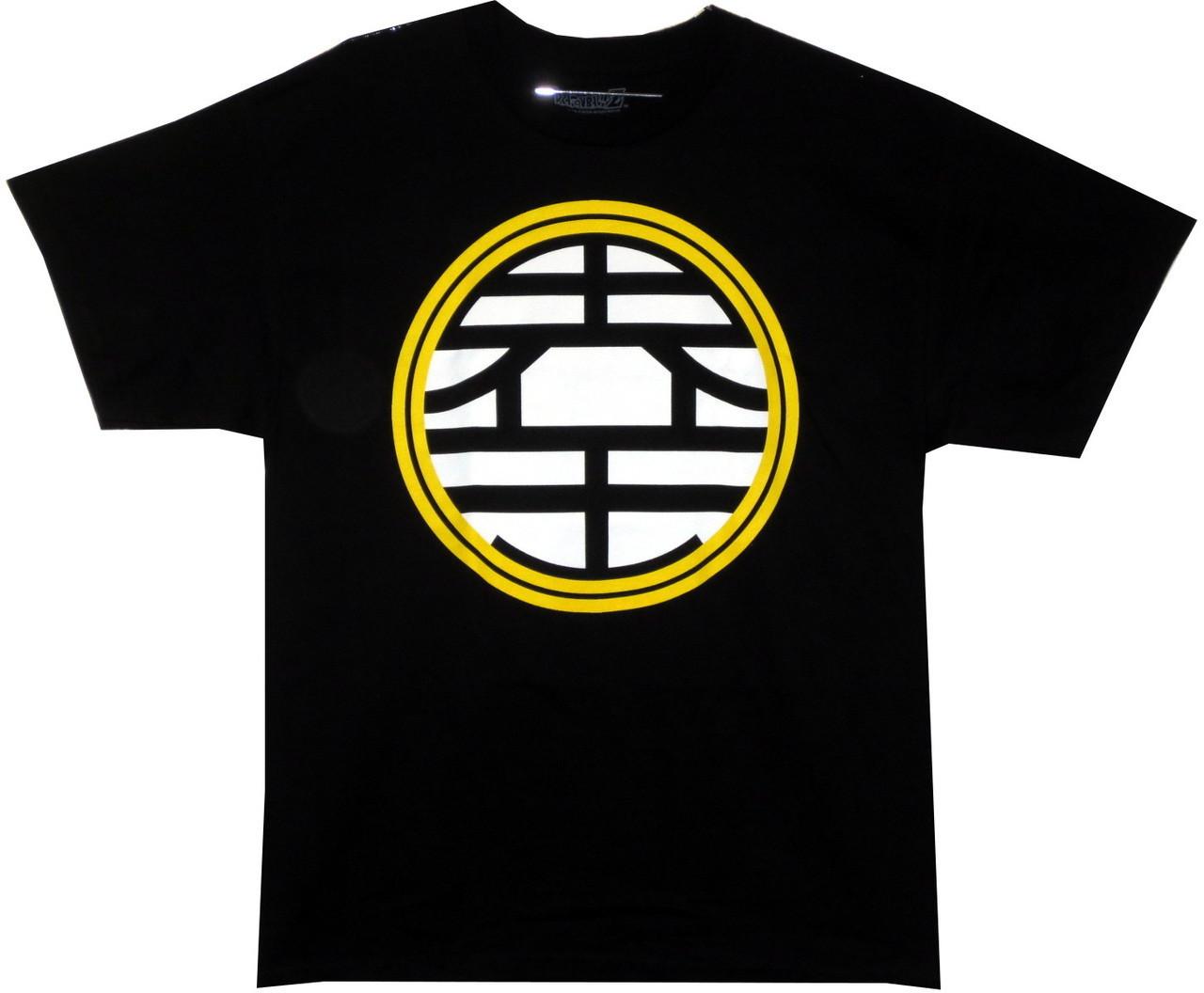 Dragonball Z King Kaio Symbol T Shirt Nerdkungfu