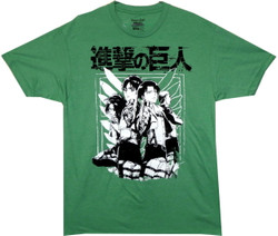 Image for Attack on Titan T-Shirt - Scout Group