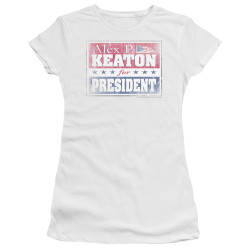 Image for Family Ties Girls T-Shirt - Alex for President