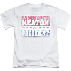 Image for Family Ties Kids T-Shirt - Alex for President