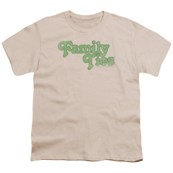Image for Family Ties Youth T-Shirt - Logo
