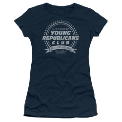 Image for Family Ties Girls T-Shirt - Young Republicans Club