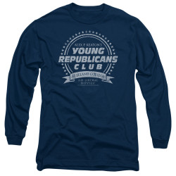 Image for Family Ties Long Sleeve T-Shirt - Young Republicans Club
