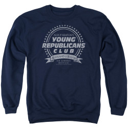 Image for Family Ties Crewneck - Young Republicans Club