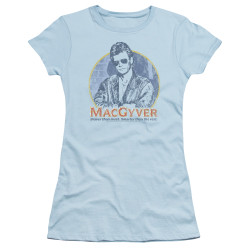 Image for MacGyver Girls T-Shirt - Title