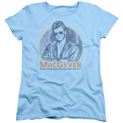 Image for MacGyver Woman's T-Shirt - Title