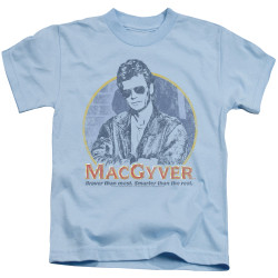 Image for MacGyver Kids T-Shirt - Title