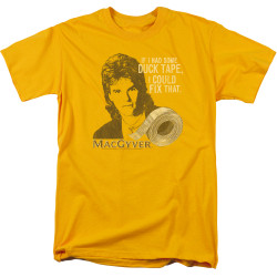 Image for MacGyver T-Shirt - Duct Tape