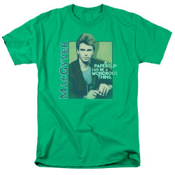 Image for MacGyver T-Shirt - Paper Clip