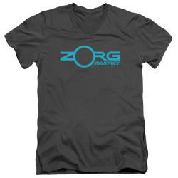 Image for The Fifth Element V Neck T-Shirt - Zorg