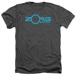 Image for The Fifth Element Heather T-Shirt - Zorg