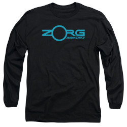 Image for The Fifth Element Long Sleeve Shirt - Zorg Logo