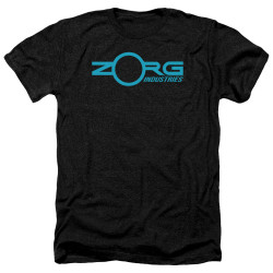 Image for The Fifth Element Heather T-Shirt - Zorg Logo