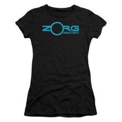 Image for The Fifth Element Girls T-Shirt - Zorg Logo