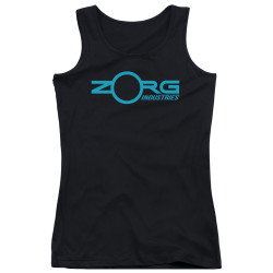 Image for The Fifth Element Girls Tank Top - Zorg Logo