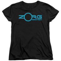 Image for The Fifth Element Womans T-Shirt - Zorg Logo