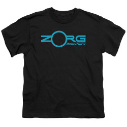 Image for The Fifth Element Youth T-Shirt - Zorg Logo