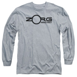 Image for The Fifth Element Long Sleeve Shirt - Zorg Corporate Logo