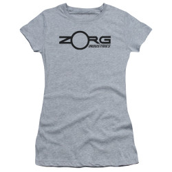 Image for The Fifth Element Girls T-Shirt - Zorg Corporate Logo