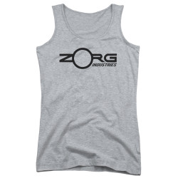Image for The Fifth Element Girls Tank Top - Zorg Corporate Logo