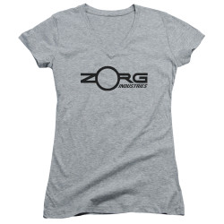 Image for The Fifth Element Girls V Neck - Zorg Corporate Logo