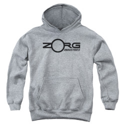 Image for The Fifth Element Youth Hoodie - Zorg Corporate Logo