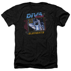 Image for The Fifth Element Heather T-Shirt - Diva