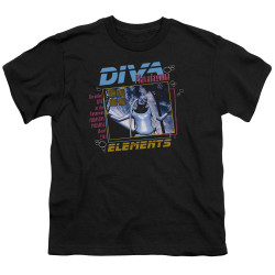 Image for The Fifth Element Youth T-Shirt - Diva