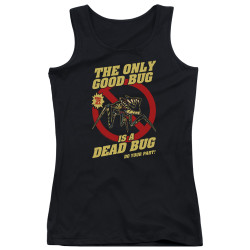 Image for Starship Troopers Girls Tank Top - Dead Bug