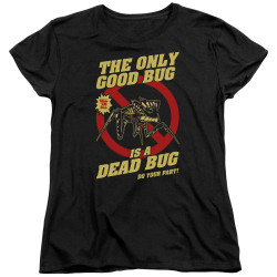 Image for Starship Troopers Womans T-Shirt - Dead Bug
