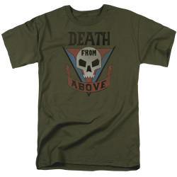 Image for Starship Troopers T-Shirt - Classic Death from Above