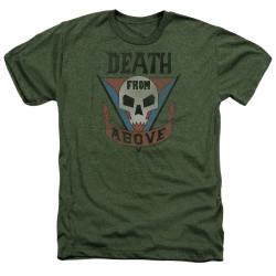 Image for Starship Troopers Heather T-Shirt - Classic Death from Above
