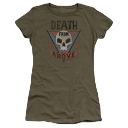 Image for Starship Troopers Girls T-Shirt - Classic Death from Above