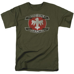 Image for Starship Troopers T-Shirt - Mobile Infantry