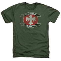Image for Starship Troopers Heather T-Shirt - Mobile Infantry
