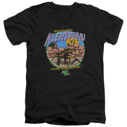 Image for Starship Troopers V Neck T-Shirt - Hostile Planet