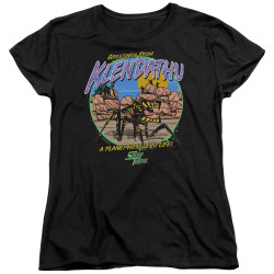 Image for Starship Troopers Womans T-Shirt - Hostile Planet