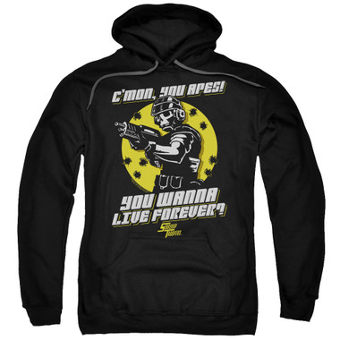 Image for Starship Troopers Hoodie - Death of the Ape