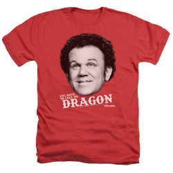 Image for Step Brothers Heather T-Shirt - Dragon