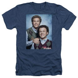 Image for Step Brothers Heather T-Shirt - The Portrait