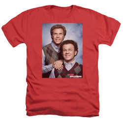 Image for Step Brothers Heather T-Shirt - Family Portrait
