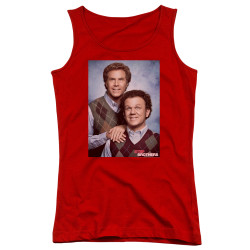 Image for Step Brothers Girls Tank Top - Family Portrait