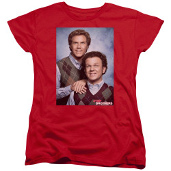 Image for Step Brothers Womans T-Shirt - Family Portrait